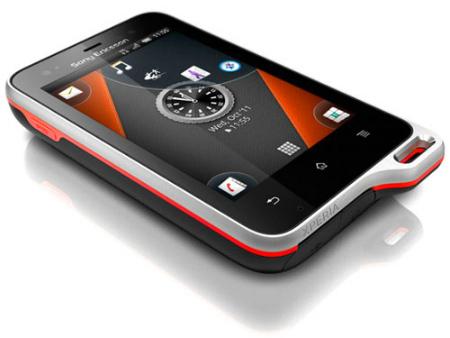 Sony Ericsson Experia Active.