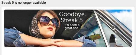 Lời tạm biệt của Dell Streak 5.