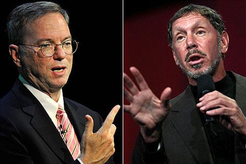 Google cũng không thể giành phần thắng trong vụ kiện với Oracle nhờ bằng sáng chế của Motorola. Ảnh: Money.cnn.