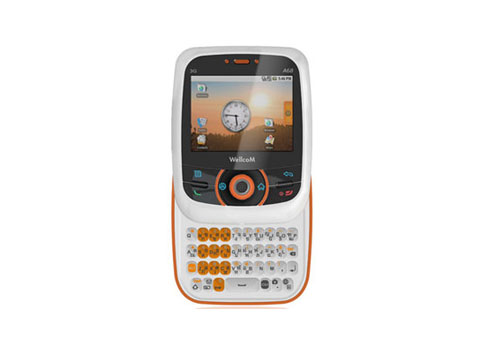 A68 với Android 1.5.
