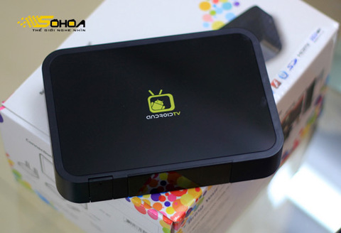 Android TV Box giúp TV lướt web như PC