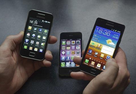 Cách xem và duyệt ảnh trên Galaxy bị xem là vi phạm sáng chế của Apple. Ảnh: Daylife.