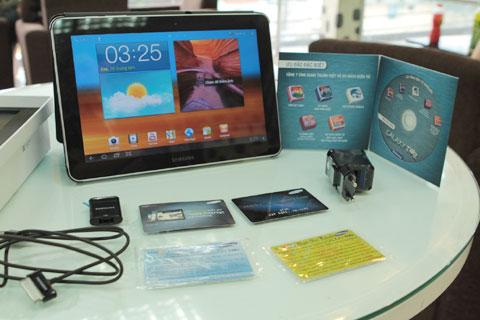 Và một năm dùng 3G. Trong ảnh là tất cả gói khuyến mại của Samsung.