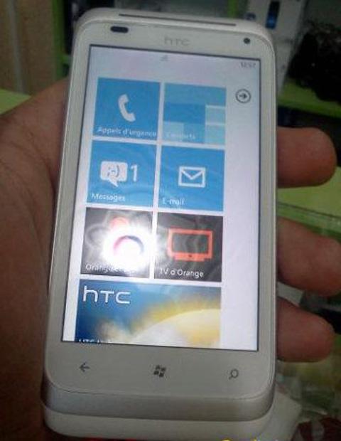 HTC Omega có tên thật là Radar.