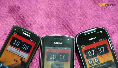 Chỉ bản Nokia 701 là có camera thứ hai để đàm thoại video.