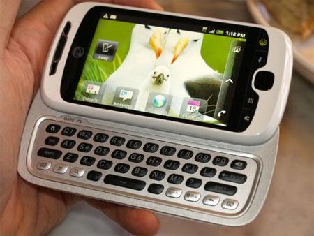 HTC MyTouch 4G Slide.