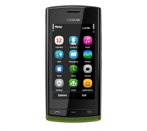 Nokia 500 với tốc độ 1GHz.