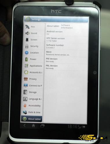 Thông tin về hệ điều hành Android 3.2 bản thử nghiệm.