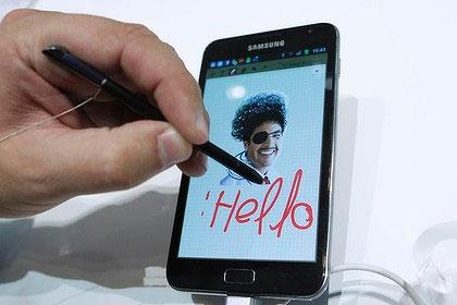 Samsung Galaxy Note nhận được phản hồi tích cực từ phía người dùng.