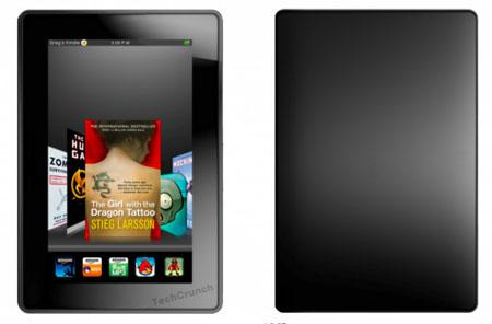 Amazon Kindle 7 theo tưởng tượng của TechCrunch.