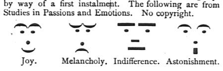 Những biểu tượng sắc thái xuất hiện từ thế kỷ 19.