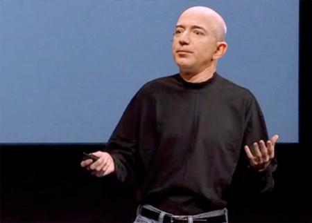Jeff Bezos hứa hẹn là một 'Steve Jobs' mới.