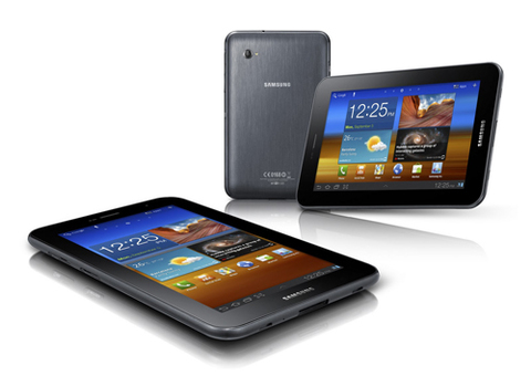 Samsung Galaxy Tab 7 Plus.