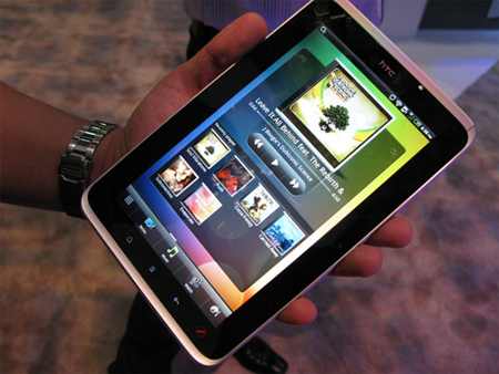 HTC Flyer là tablet mới nhất bị giảm giá mạnh.