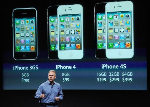 iPhone 4S không có nhiều điểm mới so với model trước đó. Ảnh: Daylife.