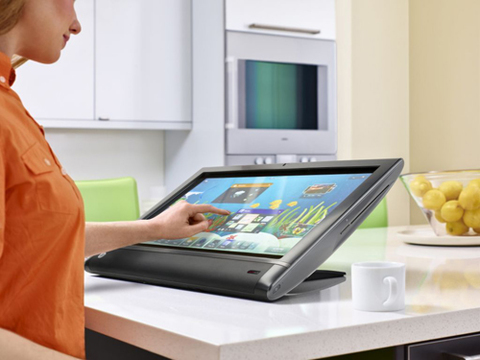 HP TouchSmart 610.