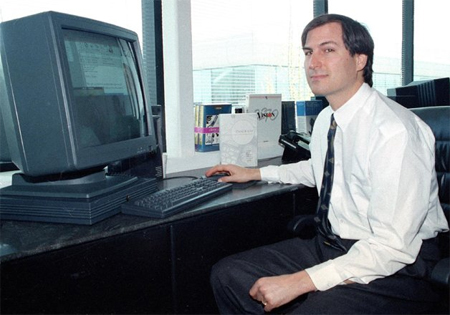 Steve Jobs tại NeXT sau khi bị Apple sa thải. Ảnh: AP.
