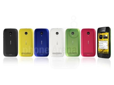 Sản phẩm mới của Nokia có nhiều màu sắc để người dùng lựa chọn.