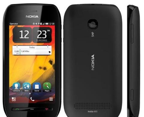 Nokia 603 sử dụng hệ điều hành Symbian Belle. Ảnh: Gsmarena.