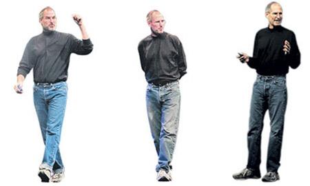 Tủ quần áo của Jobs có hơn trăm mẫu áo cổ rùa.
