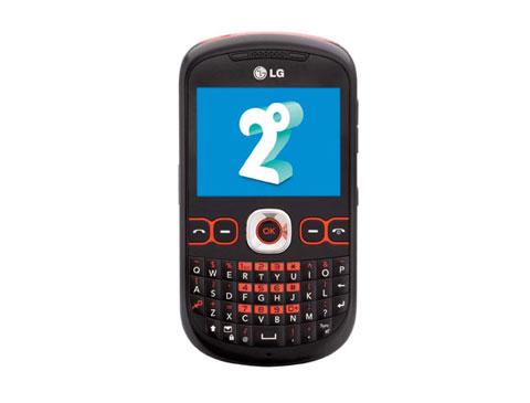 C310 của LG với kiểu dáng giống nhiều di động giá rẻ khác.