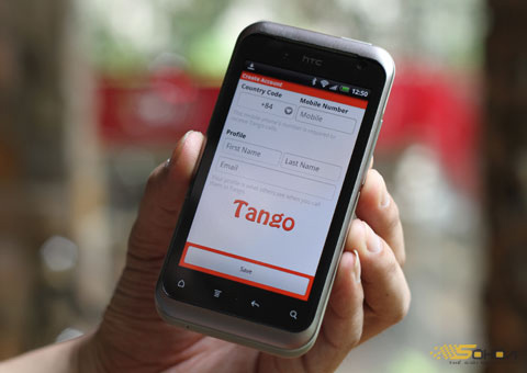 Ứng dụng gọi Tango VolP.