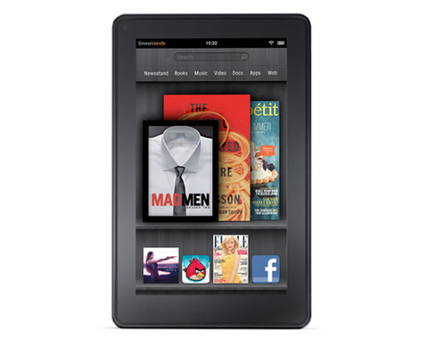 Amazon Kindle Fire.
