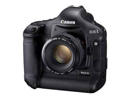 Canon 1D Mark IV là mẫu máy DSLR chuyên nghiệp mới nhất của Canon