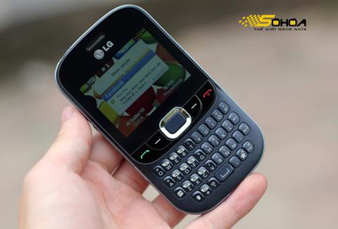 Đánh giá điện thoại 2 sim LG C375