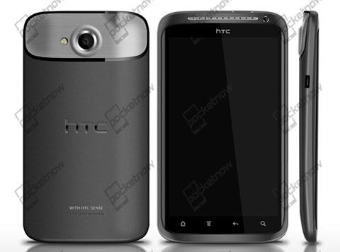 Tấm ảnh rò rỉ duy nhất đến thời điểm này của HTC Edge. Ảnh: Pocketnow