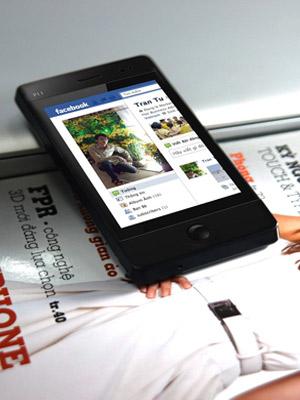 Kết nối Facebook nhờ hỗ trợ Wi-Fi