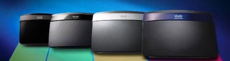 Linksys E3200 thiết kế mới hiện đại, nhỏ gọn tiết kiệm không gian