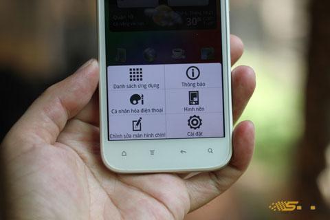 Các tùy chỉnh trên màn hình rộng được HTC làm đẹp hơn so với các phiên bản sử dụng Sense đi trước.
