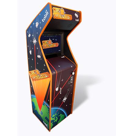 Máy game Eye Asteroids của Tobii có giá 15.000 USD và được sản xuất hạn chế.