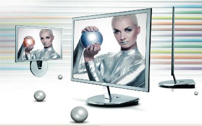 Màn hình LCD LED AOC i2253 – siêu mỏng và linh hoạt