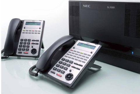 NEC SL1000 dành cho doanh nghiệp vừa và nhỏ.