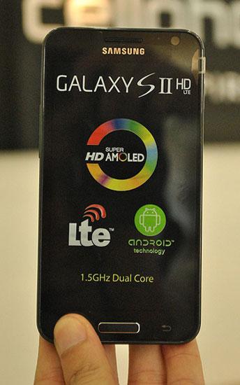 Galaxy S II HD cho thị trường Hàn Quốc.