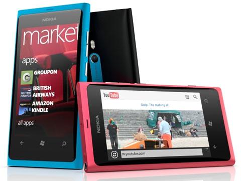 Lumia 800 với thiết kế giống N9.