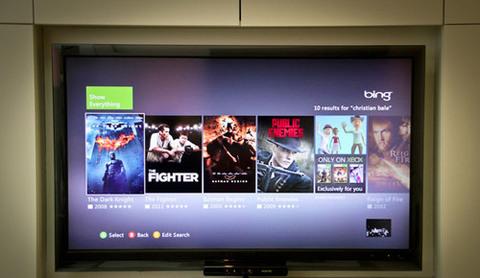 Giao diện duyệt phim không thua kém một HD Player.