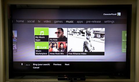 Ứng dụng nghe nhạc với kho nhạc trực tuyến từ Microsoft.