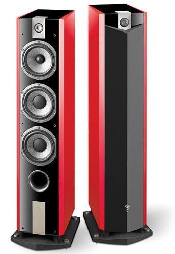 Focal Chorus 826W có củ loa mid bass công nghệ tráng sợi thủy tinh lên bề mặt loa.