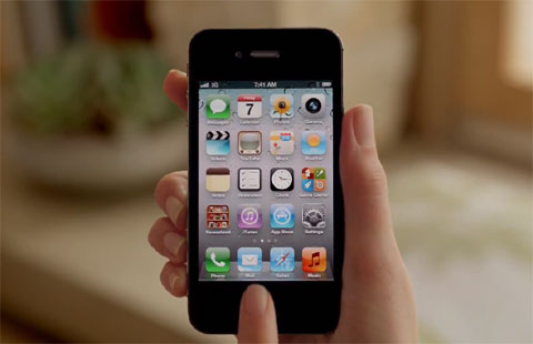 iPhone 4S của Apple ra mắt tháng 10.