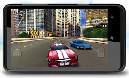 """H7-3G sử dụng chip PowerVR series 5 của Samsung cho tốc độ xử lý tốt, không """"ngán"""" cả những Game 3D """"hạng nặng"""""""
