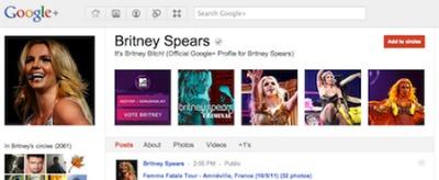 Google+ là một trong năm dự án quan trọng của Google.
