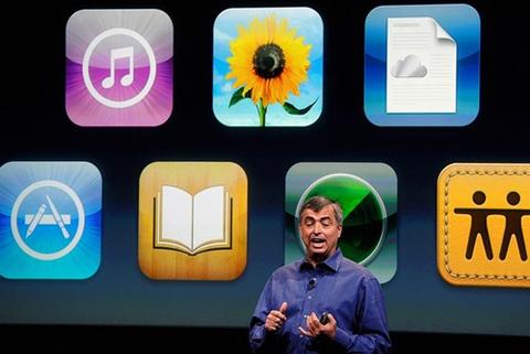 Eddy Cue, phó giám đốc điều hành của Apple là người tiết lộ về mẫu TV của Apple.