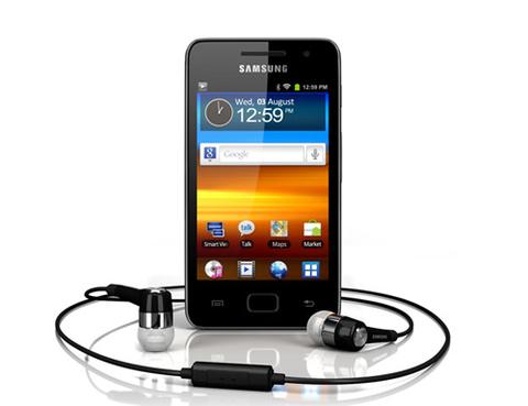 Galaxy S Wi-Fi 3.6, đối thủ trực tiếp của iPod Touch.