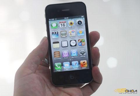 iPhone 4S thành công nhờ Siri. Ảnh: Quốc Huy.