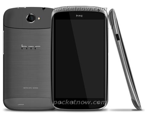 HTC Ville có thể sẽ là smartphone Android mỏng nhất. Ảnh: Noisy.