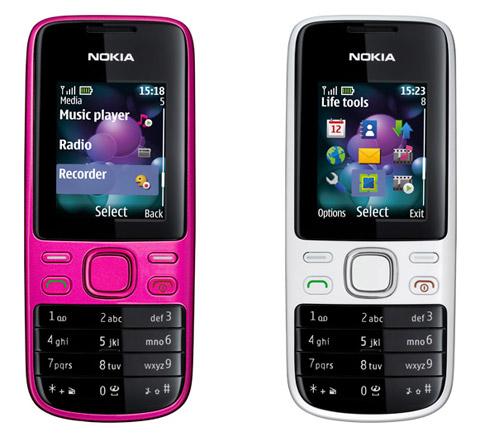 Nokia 2690 với thiết kế cơ bản.