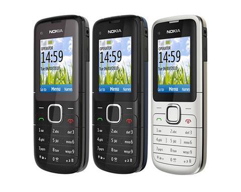 Nokia C1-01 đơn giản.